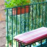 Terrasse für Erholung und Entspannung