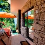 Terrasse mit exklusivem Zugang