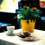 Kontinentalen Frühstück Süß-und Salzwasser