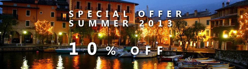 Special offer SUMMER 2015